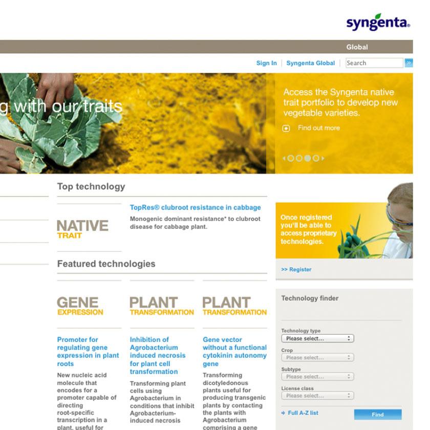 SYNGENTA WEBSITE